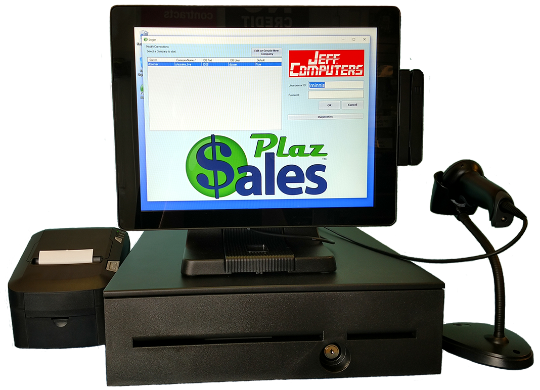 PlazSales Paperless Business Solution Combines POS, Accounting, Customer & Ticket Management & Saves Paper, Time & Money